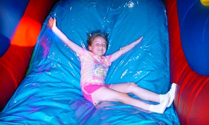 Bounce-O-Rama - Loves Park: $15 for Five Visits for Ages 3–12 or $10 for Five Visits for Ages 1–2 to Bounce-O-Rama