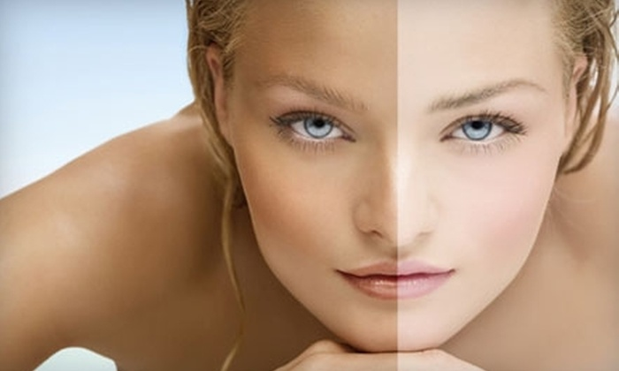 SunSpray Airbrush Tanning by Kathryn - Springfield: $45 for Three Airbrush Applications at SunSpray Airbrush Tanning by Kathryn and Three Facials at Merle Norman ($120 Value)