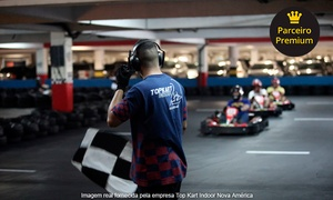 Top Kart Indoor: 20 minutos de kart + equipamento na Top Kart Indoor – Shopping Nova América