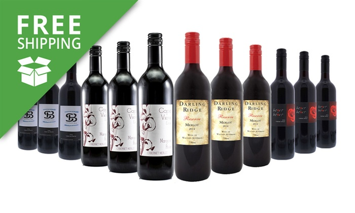Just Wines: Free Shipping: $75 for a 12-Pack of Margaret River Mixed Red and White Wines (Don't Pay $249)