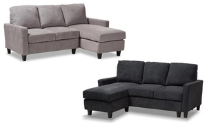 Greyson Upholstered Reversible Sectional Sofa