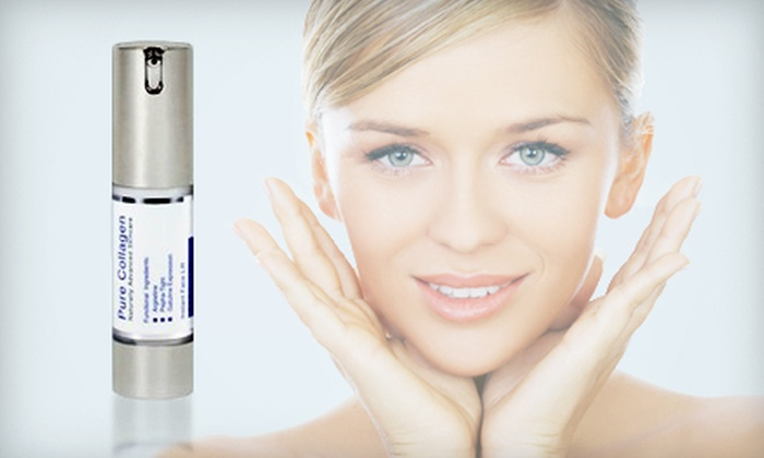 Face-Lift Serum: $25 for a 15-Milliliter Bottle of Pure Collagen Instant Face Lift Serum ($100 Value). Shipping Included.