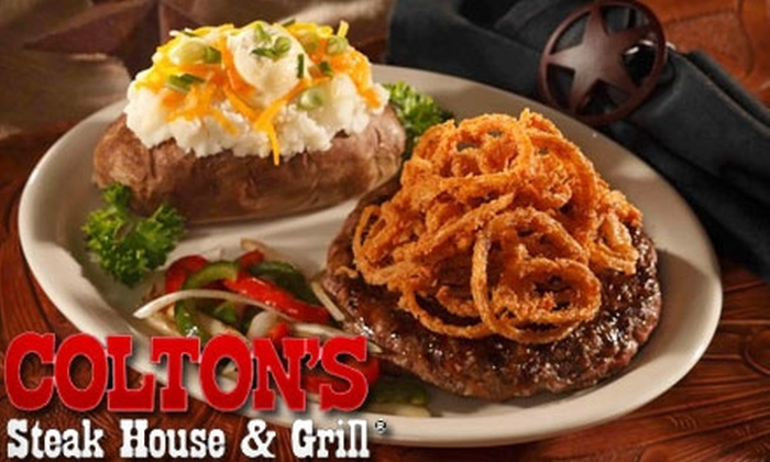 Colton's Steakhouse - Springfield: $10 for $20 Worth of Sirloins, Salads, Drinks and More at Colton's Steak House & Grill