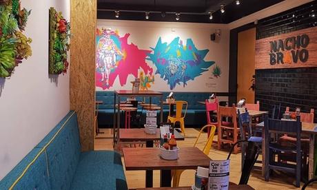 Menú Nacho con opción a menú premium para 2 personas en el restaurante Nacho Bravo Cantina