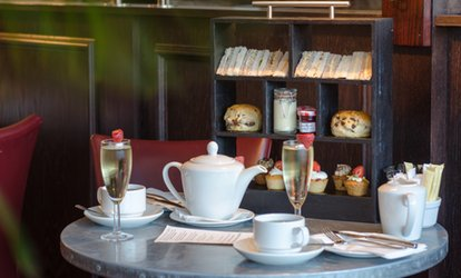 image for Afternoon Tea with a Glass of Sparkling Wine for One, Two or Four at Hilton Bath City (Up to 59% Off)
