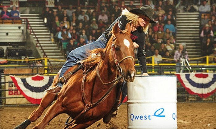 National Western Stock Show's Colorado Versus the World - Elryia Swansea: Rodeo Outing for One or Two to National Western Stock Show at National Western Complex on January 7 (Up to 65% Off)