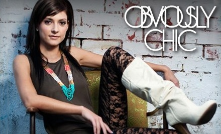 $50 Groupon to Obviously Chic Boutique - Obviously Chic Boutique in