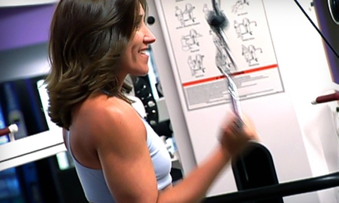 Pumps Real Fitness for Women - Wakefield: $30 for a 30-Day Pass at Pumps Real Fitness for Women in Wakefield (Up to $79 Value)