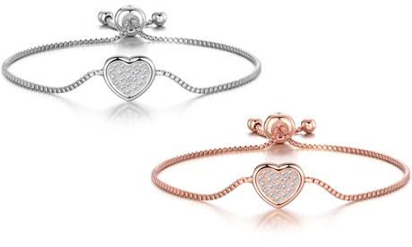 1 o 2 pulseras de la amistad Philip Jones decoradas con cristales Swarovski®