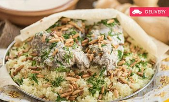 AED 50 Toward Middle Eastern Food