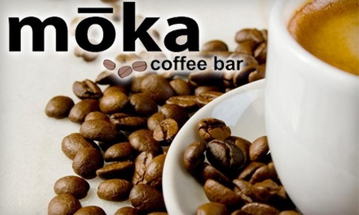 Moka Coffee Bar - Lakewood S.C.: $5 for $10 Worth of Gourmet Coffee, Light Lunch, and Fresh Baked Desserts at Moka Coffee Bar