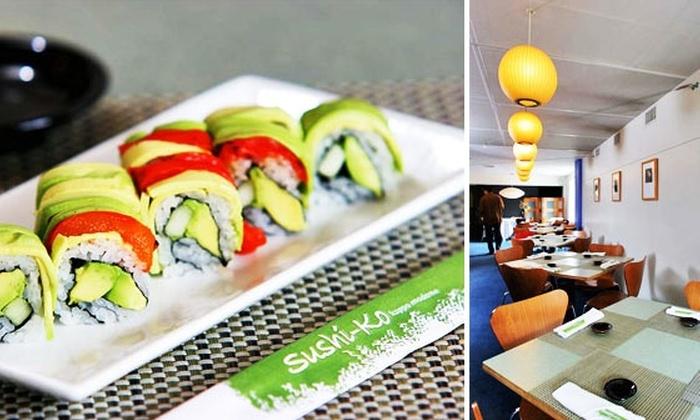 Sushi-Ko - Glover Park: Half Off at Sushi-Ko: the Oldest Sushi Restaurant in DC