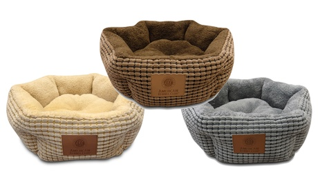 AKC Snuggly Cuddle Cups Pet Bed f152be58-a5cb-11e6-896f-00259060b5da