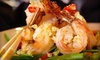 Grand China - Garden Hills: $29 for a Prix Fixe Pan-Asian Dinner with Soup, Entrees, and Drinks for Two at Grand China (Up to $64 Value)