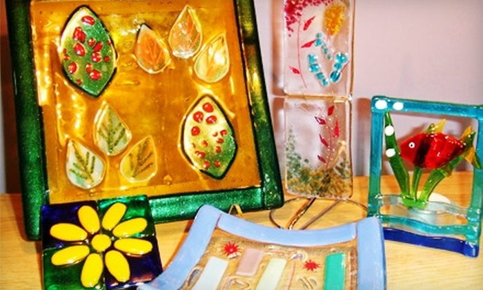 Glass House Designs - Lowell: $10 for $20 Worth of Open-Studio Glass Fusing at Glass House Designs in Lowell
