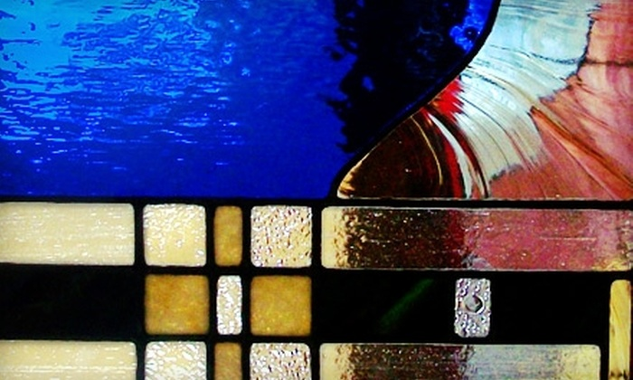 Artisan Stained Glass - Northwest Austin: $72 for a Three-Week Beginners' Leading or Copper-Foiling Class at Artisan Stained Glass ($145 Value)