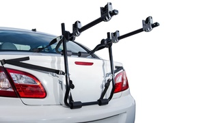 Trunk Bike Mounts for Most Sedan Cars (Fits Two Bikes)