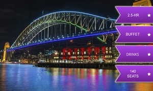 Cruise Sydney Harbour & Rhythmboat Cruises: From $39 for a Vivid Cruise with Buffet and Drinks with Rhythm Boat, Sydney Harbour (From $85 Value)