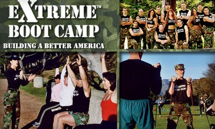 Extreme Boot Camp - Covina-Valley: $25 for Five Drop-In Boot-Camp Sessions, Plus Fitness Assessment and Nutritional Counseling, from Extreme Boot Camp ($100 Value)
