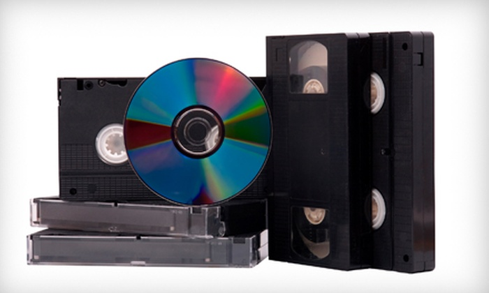 Flicko's Video Services - Cary: $13 for a VHS-to-DVD Conversion at Flicko's Video Services in Cary ($27.96 Value)