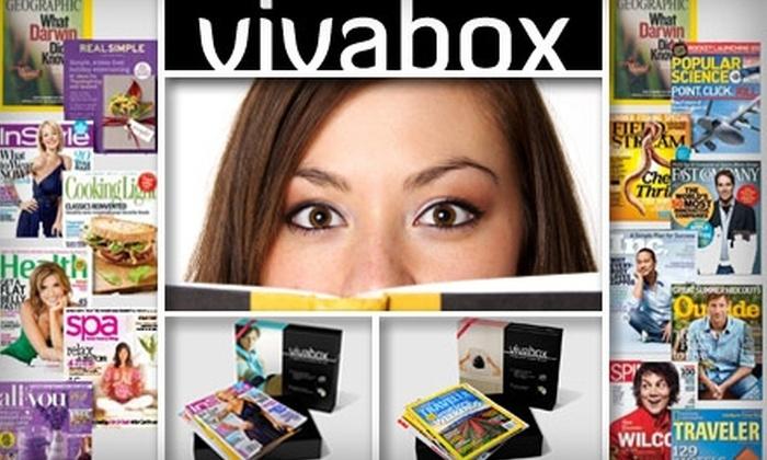 Vivabox - Washington DC: $19 for a Men's or Women's Magazine Sampler Pack Plus One Yearlong Subscription from Vivabox ($38.95 Value)