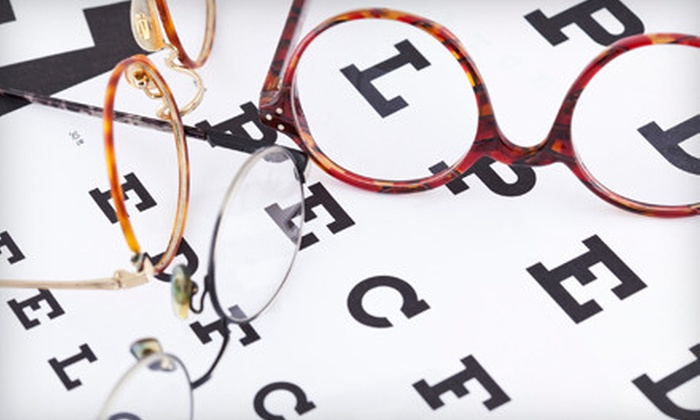 ClearVision Optometry - Multiple Locations: $58 for an Eye-Care Package with $175 Toward Eyeglasses at ClearVision Optometry (Up to $374 Value)