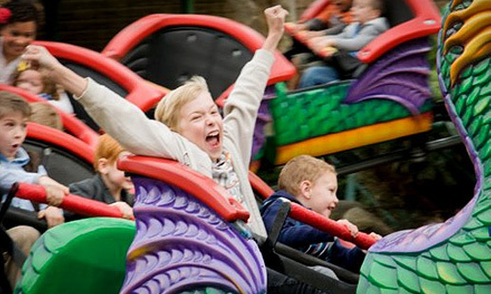 Funderland Amusement Park - Southwestern Sacramento: $35 for a Weekday Amusement-Park Outing with Refreshments for Four at Funderland Amusement Park (Up to $73.80 Value)