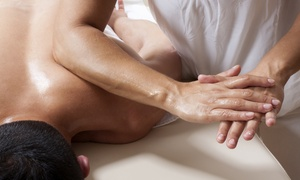 teMassage: 60-Minute Swedish or Sports Massage with Optional Body Scrub or Facial at teMassage (Up to 54% Off)