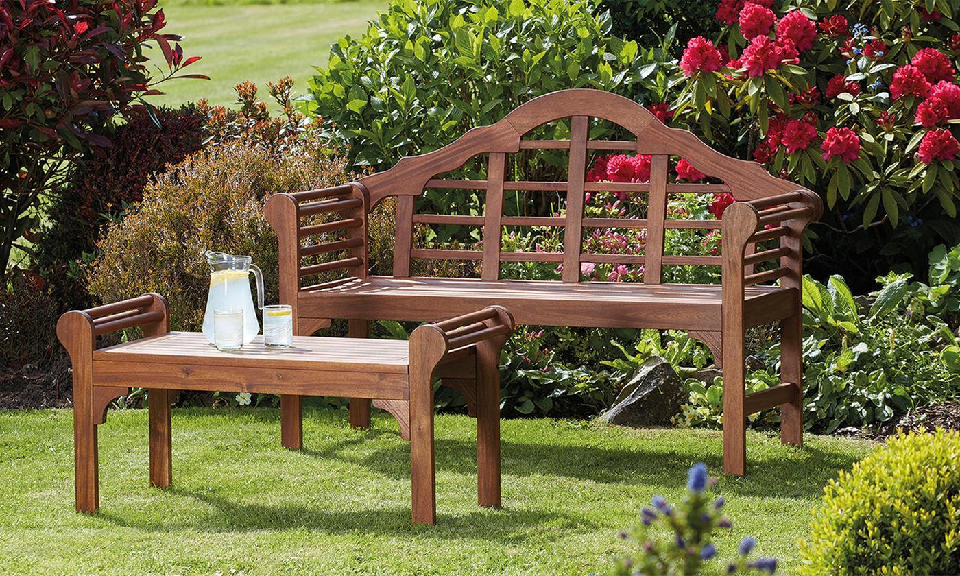 Acacia Hardwood Garden Furniture Range (£22.99)