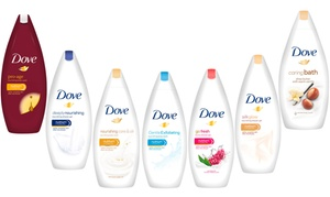 Lot de 6 gels douche Dove