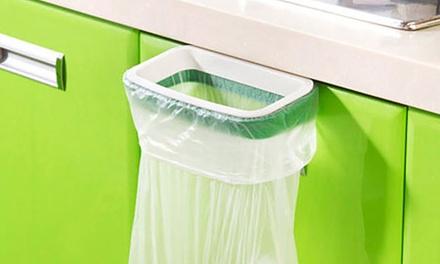Küchenschranktüren platzsparender mülltütenhalter aus plastik zum befestigen an z b