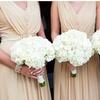 50% Off Fresh Hydrangea Flower Wedding Bouquets