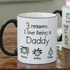 Personalized Black Handle Mugs