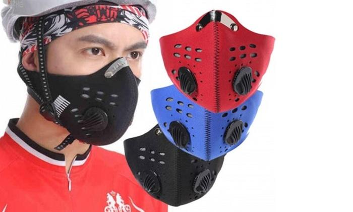 1, 2 ou 4 masques avec valve respiratoire