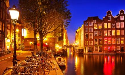 Amsterdam: standaard tweepersoonskamer voor twee in Camp Inn Hotel