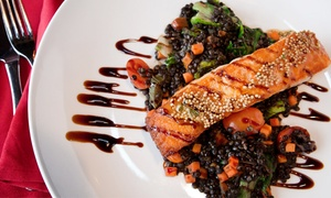 New American Dinner for Two or More at Market Grille (Up to 40% Off). Two Options Available.