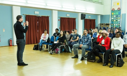 Public Speaking Practice for Beginners on 12 December - 27 March at The Abbey Centre (Up to 60% Off)