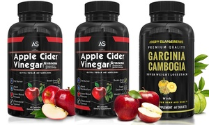 Angry Supplements Apple Cider Vinegar and Garcinia Cambogia