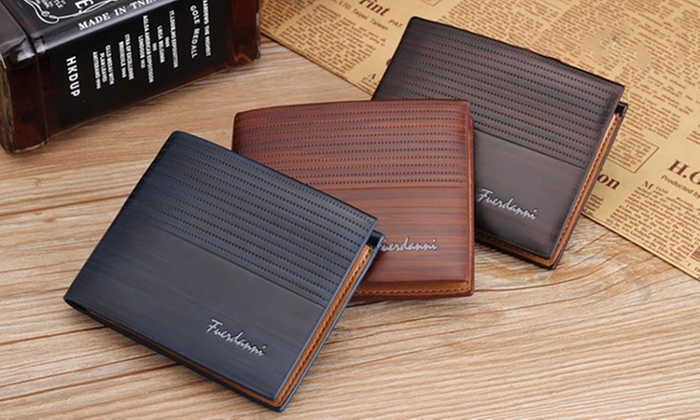 Ever Mercantile Limited: Men's Minimalist Wallet: One ($16) or Two ($26)
