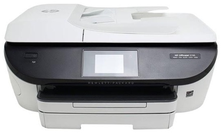 HP OfficeJet 5740 & 5746 Wireless All-in-One Color Inkjet Printer (Refurbished)