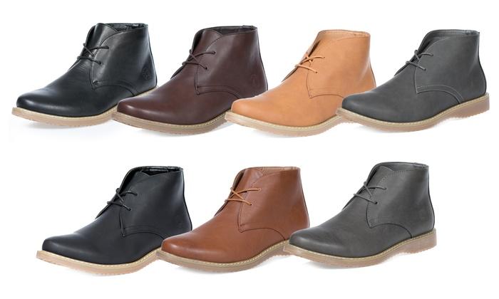 Akademiks Men's Lace-Up Chukka Boots