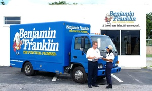 Benjamin Franklin Plumbing: $32 for a Water Heater Tune-Up and Inspection from Benjamin Franklin Plumbing ($129 Value)
