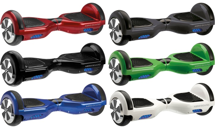 AeroBoard UK-Certified Hoverboard with Optional Carry Bag With Free Delivery for £189.98