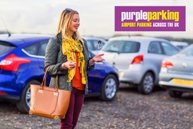 Purple Parking: Up to 35% Off Airport Parking with No Additional Booking Fees from Purple Parking, Multiple Locations