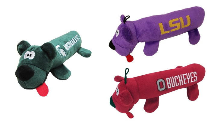 6f0522b8c Up To 7% Off on Licensed NCAA Tube Pet Toy