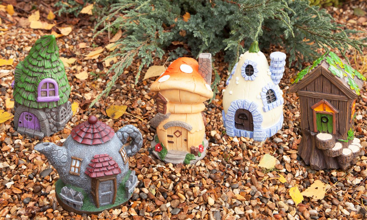 Up to Six PMS Secret Fairy Garden Houses in Choice of Design