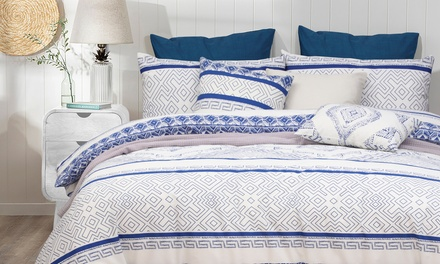 From $39 for a Hampton 100% Cotton Quilt Cover Set (Don't pay up to $125)