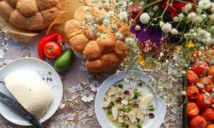 """זכאים- בוטיק טבעוני אורגינל: """"זכאים"""",  מסעדת בוטיק טבעונית במרכז ת""""א: רק 59 ₪ לגרופון בשווי 100 ₪, למימוש על תפריט האוכל, השתייה והקינוחים"""