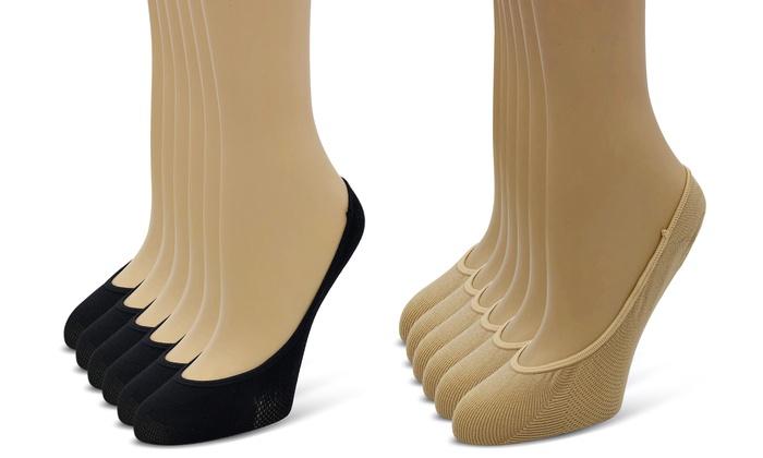 d041e3991c5 Elle Women's Ultrasoft No-Show Liner Socks (12 Pairs)