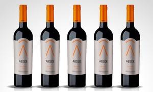 Cavas La Capilla: $229 en vez de $400 por 12 botellas de vino Abside Malbec de 187 ml en Cavas La Capilla